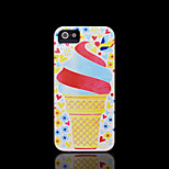 Ice cream Pattern Hard Cover for iPhone 5 Case for iPhone 5 S