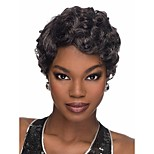 New  Style Syntheic Wigs Extensions Natural Color  Bang Of Wigs