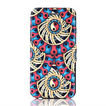 Windmill Pattern PU Leather Phone Case for iPhone 6