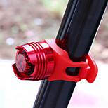 Задняя подсветка на велосипед LED - Велоспорт Водонепроницаемый CR2032 50-70 Люмен Батарея Велосипедный спорт-CoolChange®