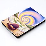 Colour Decoration Leather Flip Smart Full Body Case for Kindle Voyage 2014