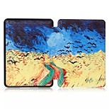 High Quality Flip Colorful PU Leather Case for Kindle Voyage