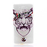 Tiger Pattern TPU Material Phone Case for LG G3