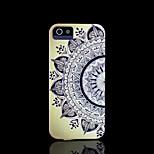 aztec mandala bloempatroon dekking voor iphone 4 / iphone 4 s case
