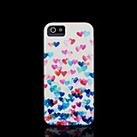 Heart Pattern Hard Cover for iPhone 5 Case for iPhone 5 S