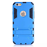 4.7 Inch Specially Designed TPU Case with Kickstand Back Cover for iPhone 6(Assorted Colors)