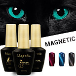 Azure 3 Pcs/Lot UV Cat Eyes Magnetic UV Gel Polish Gel Soak Off Nail Polish Set (#92+#93+#94)