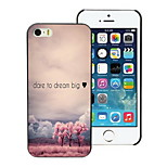 Dare To Dream Big Design Hard Case for iPhone 5/5S