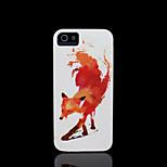 Fuchs Muster harte Abdeckung für iphone 5 Fall für iphone 5 s