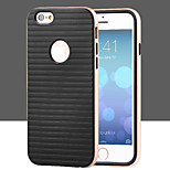 Business Stripe TPU + PC Combo Phone Case for iPhone 6 (Assorted Colors)