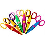 Stationery  Handmade DIY Photo  Album  Series  Necessary Safety  Manual  Lace  Scissors(6 a set of)
