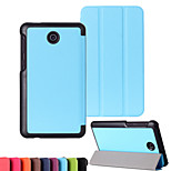 Newest Solid Color Custer Luxury Leather Flip Full Body Case for Asus FE7530CXG (Assorted Colors)