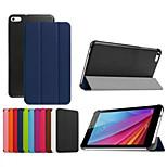 7 polegadas caso padrão dobrável triplo alta qualidade de couro pu para Huawei MediaPad t1 t1-701u (cores sortidas)
