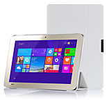 ivso toshiba encore 2 WT10-A32 / A64 10,0-inch Windows 8.1 tablet ultra-dunne Smart Cover Case (wit)
