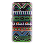 National Wind Patterns TPU Soft Case for Nokia Lumia N530