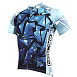 PaladinSport Men's Short Sleeve Cycling Jersey New Style Glass DX514 100% Polyester