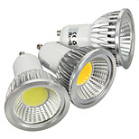 1 pcs GU10 3 W 1 COB 180 LM Warm White/Cool White Spot Lights AC 85-265 V