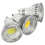 1 pcs GU10 3 W 1 COB 180 LM Warm White / Cool White Spot Lights AC 85-265 V
