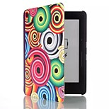 6 Inch Conch Pattern PU Leather Case with Magnetic Buckle for Amazon Kindle Voyage