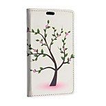 Peach Tree Pattern Full Body Case for Sony Xperia E4G(Assorted Colors)