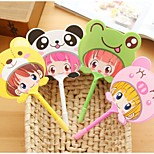 Han Edition Pen Head Small Fan Ceative Amphibious Animals (Random Color)