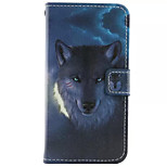 Loyalty  Pattern PU Leather Phone Case for iPhone5/5S