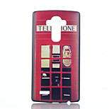 Red Pavilion Pattern PC Phone Case for LG G4
