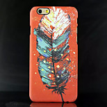 Fashion Colour Feather Patterns Back Cover Case for iPhone 5/5S