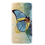 Butterfly Pattern TPU Material  Phone Case for LG G3 MINI