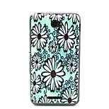 Daisy Pattern TPU Material Phone Case And Screen Protector for Sony Xperia E4