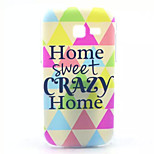 Happy Home Pattern PC Hard Case for Samsung Galaxy Trend Lite S7390/S7392