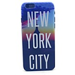 New York City Pattern Hard Case Cove for iPhone 6