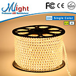 Mlight 1 Meter 72 leds/m 5050 SMD Warm White/White Waterproof/Cuttable 6 W Flexible LED Light Strips AC110-220 V
