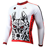 PALADIN Bike/Cycling Jersey / Tops Men's Long SleeveBreathable / Ultraviolet Resistant / Quick Dry / Lightweight Materials / Back Pocket