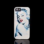 Marilyn Monroe Muster harte Abdeckung für iphone 5 Fall für iphone 5 s