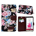 High-grade Cloth Grain PU Leather Cardholder Wallet Flip Phone Holster For LG G3(Assorted Color)