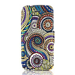 Spray Pattern PU Leather Phone Case for iPhone5/5S