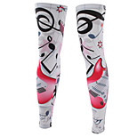 A Pair Unisex Sports Cycling Sun Protective Uv Cover Leg Sleeves