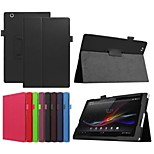 10.1 Inch Lichee Pattern PU Leather Stand Case for Sony Xperia Z4 Tablet Ultra(Assorted Colors)