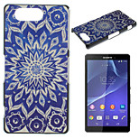 Printing Pattern Painted PC Material Phone Case for Sony Z3 Mini