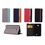 Hit Color No Buckle PU Leather Full Body Case for LG L70 (Assorted Color)