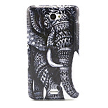 Elephant  Pattern TPU Soft Case for Sony E4