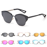 Women 's Mirrored Browline Sunglasses