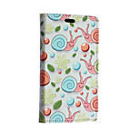Green Snail Pattern Full Body Case for Sony Xperia E4G(Assorted Colors)