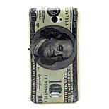 Dollar-Muster-TPU weiche Tasche für Sony e4