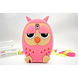 New Style Owl Silicne Mobilephone Lovely for iPhone 6 Plus