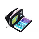speciálně navržený rozkol PU koženou peněženku pouzdro celotělový pouzdro pro Samsung Galaxy Poznámka 4