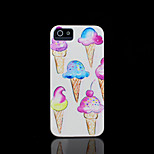 Ice cream Pattern Cover for iPhone 4 Case / iPhone 4 S Case