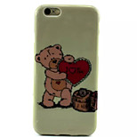 Cover Back Case Heart TPU Soft Case Special Design for iPhone 6