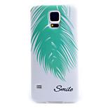 филиал шаблон ТПУ материал мягкий телефон случае для Samsung i9600 s5